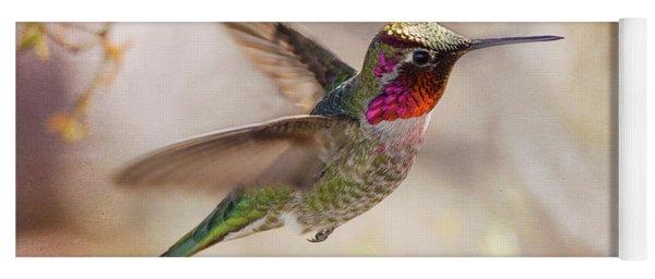 Anna's Hummingbird Yoga Mat