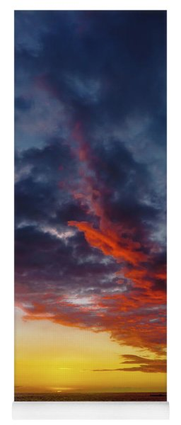 Another Colorful Sky Yoga Mat