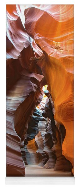 Yoga Mat featuring the photograph Antelope Canyon Glorious by Mark Duehmig