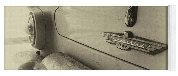 Antique Classic Car Vintage Effect Yoga Mat