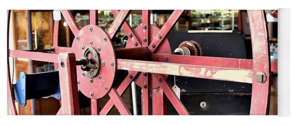 Antique Toy Ferris Wheel Yoga Mat