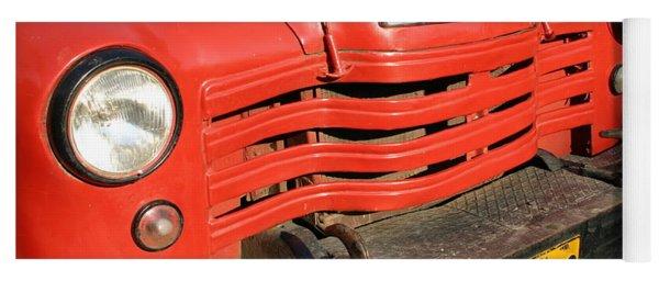 Antique Truck Red Cuba 11300502 Yoga Mat