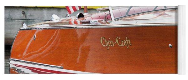 Antique Wooden Boat 1305 Yoga Mat