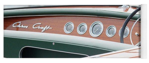Antique Wooden Boat Dashboard 1306 Yoga Mat