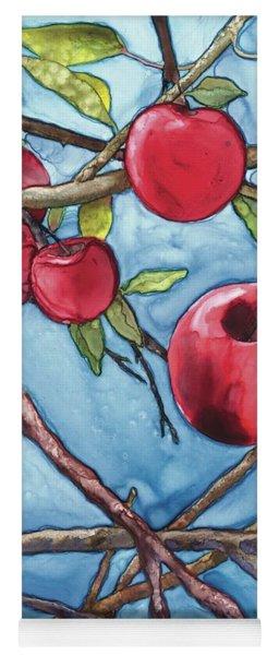 Apple Harvest Yoga Mat