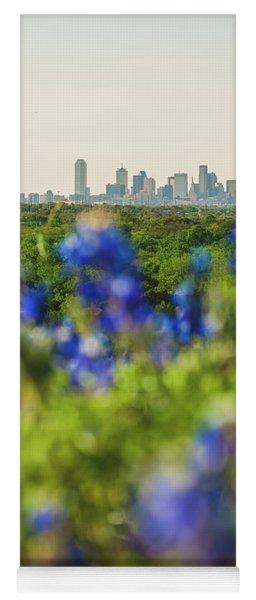 April In Dallas Yoga Mat