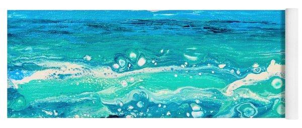 Aqua Seafoam Yoga Mat