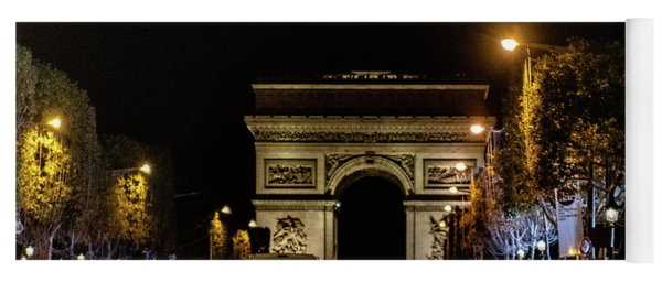 Arc De Triomphe Yoga Mat