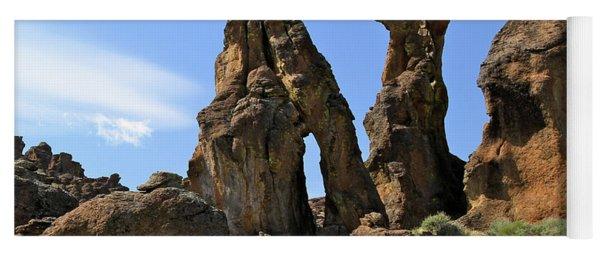 Arches Hoodoos Castles Yoga Mat