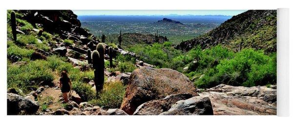 Arizona Desert Hiking Yoga Mat
