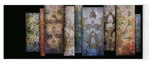 Art Panels - Antique Wallpaper  Yoga Mat
