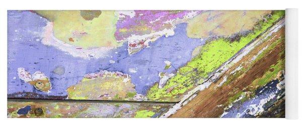 Yoga Mat featuring the photograph Art Print Patina 56 by Harry Gruenert