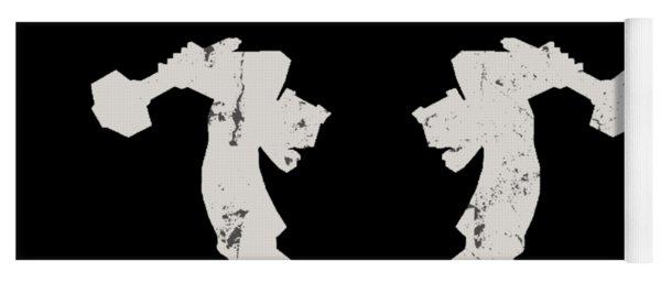 arteMECHANIX OFFICIAL LOGO  GRUNGE Yoga Mat
