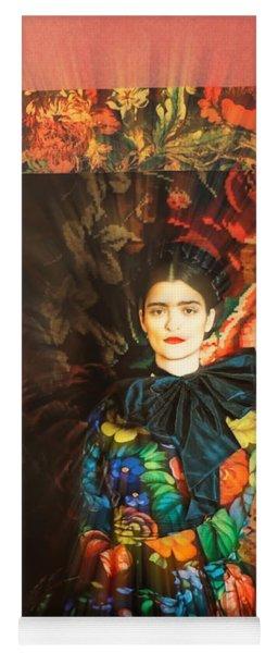 Artistic Frida Kahlo Stream  Yoga Mat