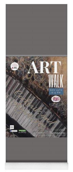 Artwalk Art Show Scottsdale  Yoga Mat