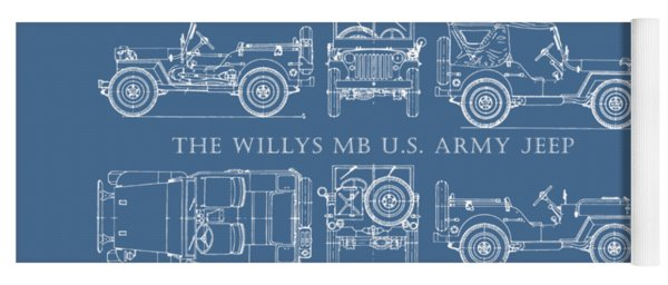 The Willys Jeep Yoga Mat