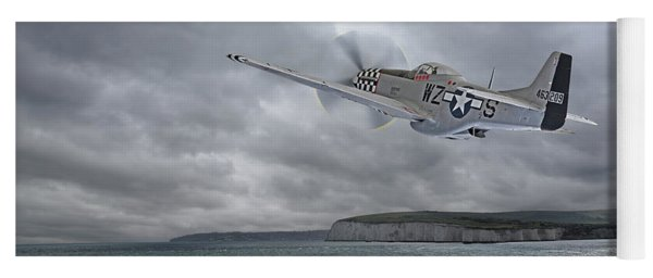 The Mission - P51 Over Dover Yoga Mat