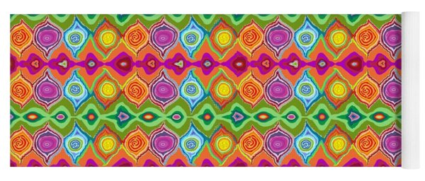 Mexican Colours Yoga Mat
