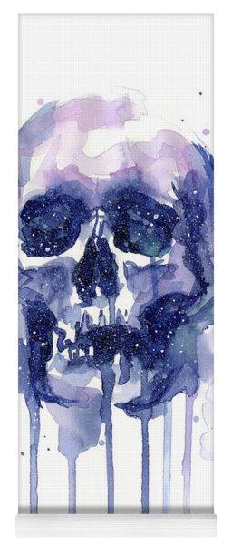 Space Skull Yoga Mat