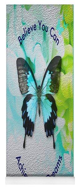 Yoga Mat featuring the digital art Believe by Sabine ShintaraRose