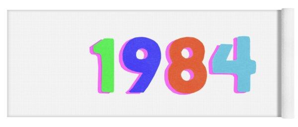 1984 Yoga Mat