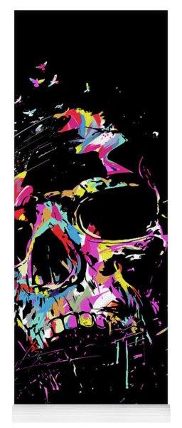 Skull X Yoga Mat