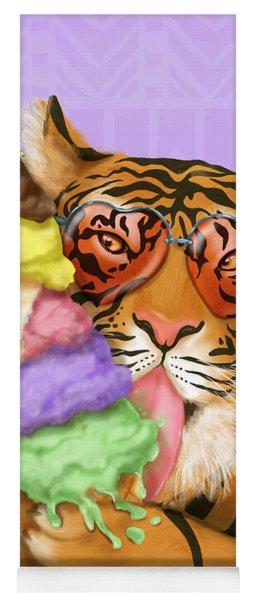 Party Safari Tiger Yoga Mat