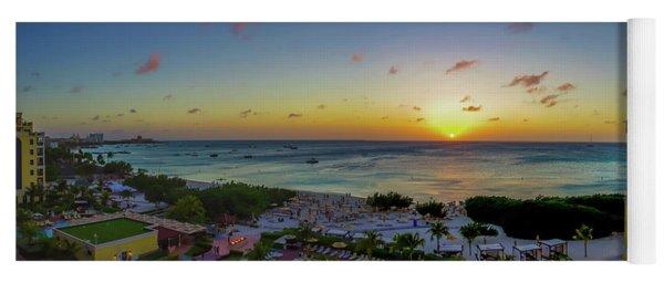 Aruban Sunset Panoramic Yoga Mat