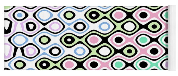 Asymmetry Collection Contrasts Yoga Mat
