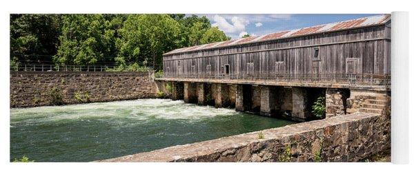 Augusta Canal Headgates - Augusta Ga Yoga Mat