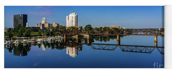 Augusta Ga Savannah River Panorama Yoga Mat