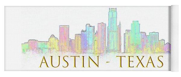 Austin Skyline Yoga Mat