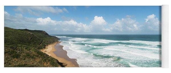Australia Coastline Yoga Mat
