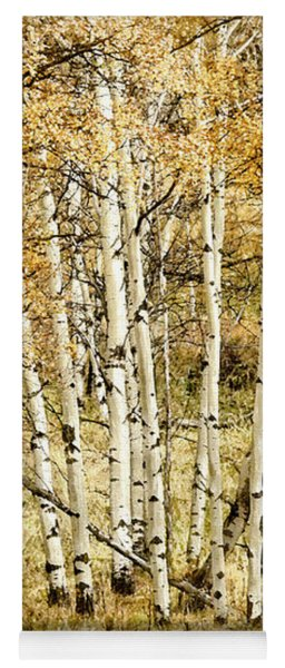Autumn Aspen Yoga Mat