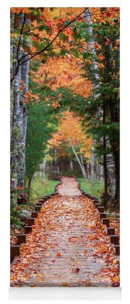 Autumn At Jesup Path Yoga Mat