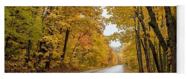 Autumn Drive Yoga Mat