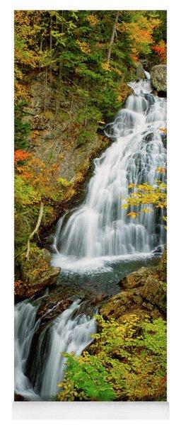 Autumn Falls, Crystal Cascade Yoga Mat