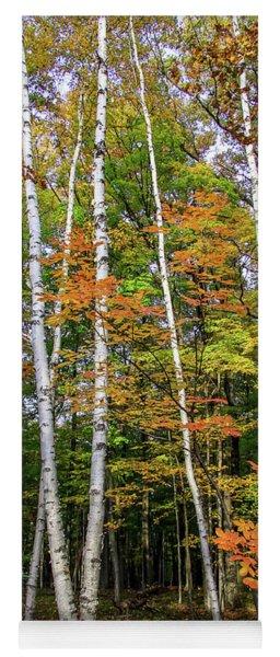 Autumn Grove, Vertical Yoga Mat
