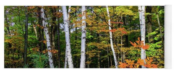 Autumn Grove, Wisconsin Yoga Mat