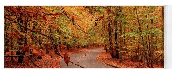 Autumn In Holmdel Park Yoga Mat