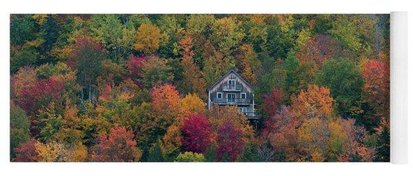 Autumn In Maine Yoga Mat