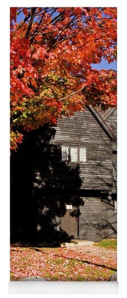 Autumn In Salem Yoga Mat