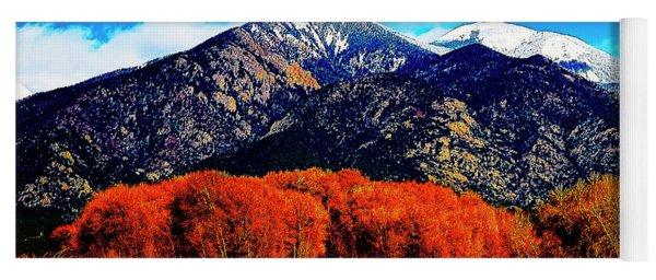 Autumn In Taos New Mexico Yoga Mat