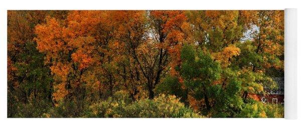 Autumn Is Nigh  Yoga Mat