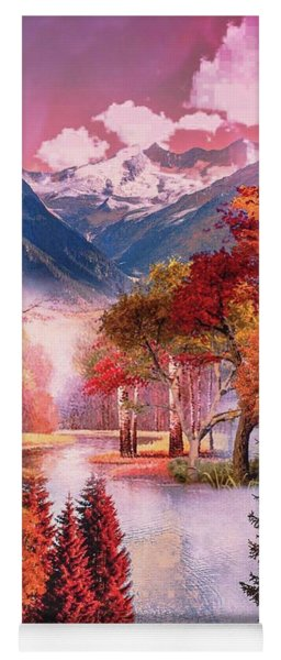 Autumn Landscape 1 Yoga Mat