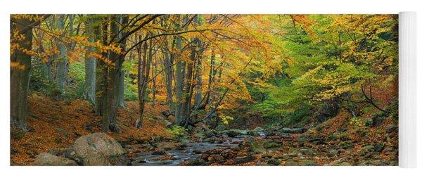 Autumn Landscape Yoga Mat