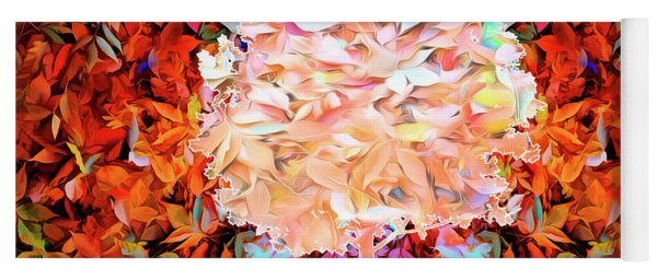 Yoga Mat featuring the photograph Autumn Leaves by Mike Braun