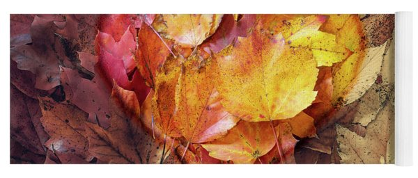Autumn Love Yoga Mat