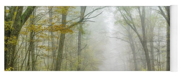 Autumn Mist Monongahela National Forest Yoga Mat