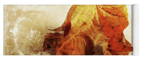 Yoga Mat featuring the photograph Autumn Texture by Randi Grace Nilsberg